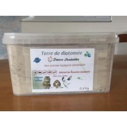 TERRE DE DIATOMEE 2.5 KG